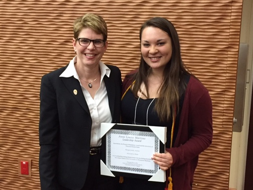 2016 Anne Louise Martino Leadership Award Recipient