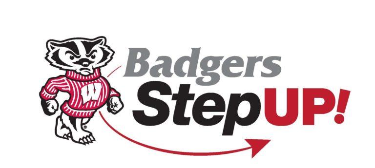 badgers step up logo